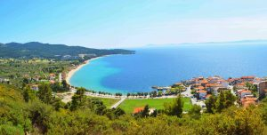 Neos Marmaras beach - House Capetanios Apartments Rooms to let Neos Marmaras Halkidiki Greece