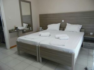Double Bedroom - House Capetanios Apartments Rooms to let Neos Marmaras Halkidiki Greece