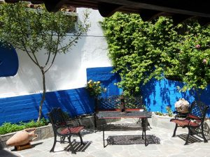 Garden - House Capetanios Apartments Rooms to let Neos Marmaras Halkidiki Greece